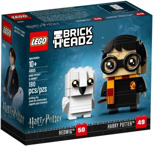 LEGO ® Brick Headz 41615 Harry Potter i Hedwiga